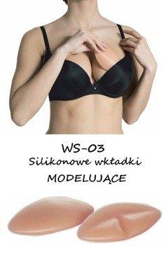 Wkładki silikonowe modelujące  biust, Julimex - WS 03