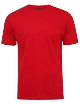Czerwony T-shirt męski Imako - Aleksander
