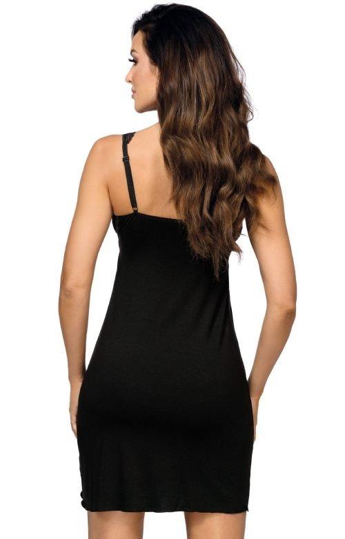 Koszula nocna Donna Kasiya II czarny   Atrakcyjna  vzJd1