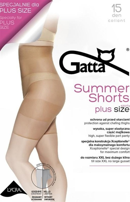 Szorty damskie Gatta - Summer Shorts (Plus Size)